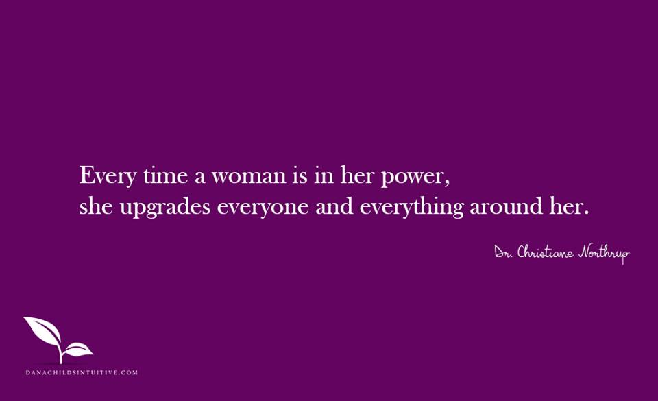 woman is in her power quote watermarked