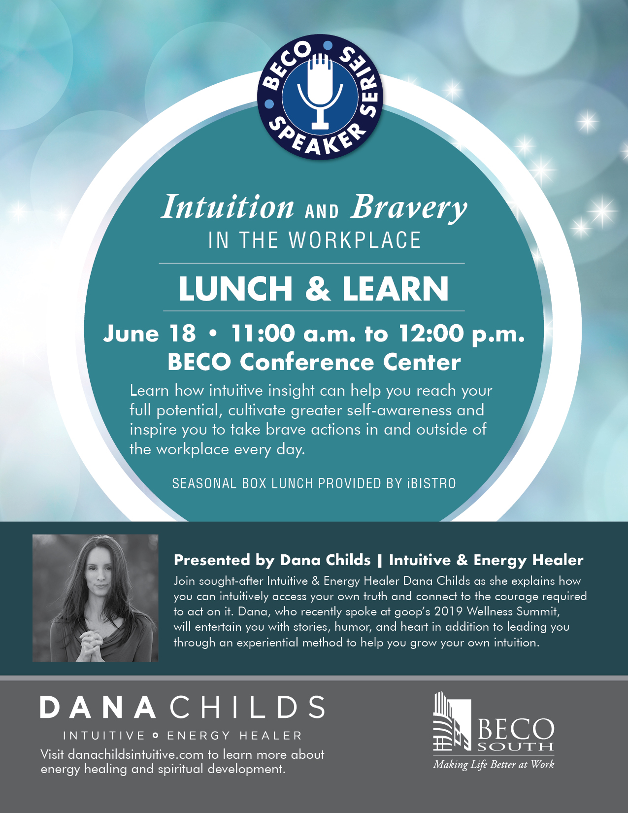 Intuition & Bravery In The Workplace: Beco Speaker Series