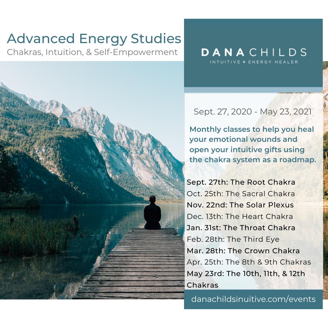 Advanced Energy Studies: Chakras, Intuition, & Self-Healing